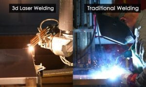 Laser Welding vs. Traditional Welding